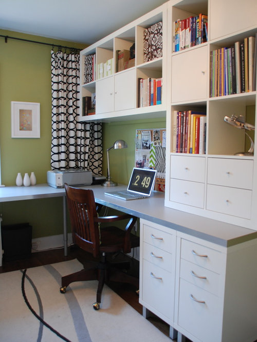 Ikea office houzz for Ikea office ideas
