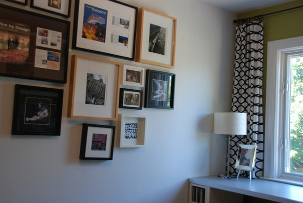 Modern Home Office by Jennifer - Rambling Renovators