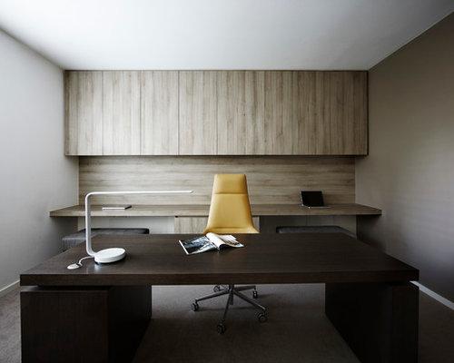 Minimalist Home Office Houzz