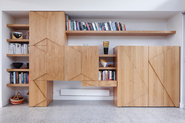 Contemporary Home Office by FMD Architects