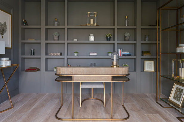 Contemporary Home Office by The Interiors Project