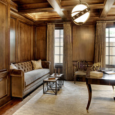 Traditional Home Office by Dodson and Daughter Interior Design