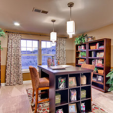 Traditional Home Office by Oakwood Homes