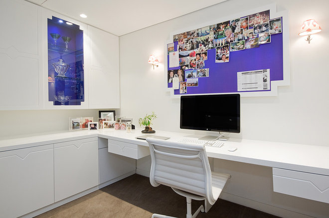 Contemporary Home Office by Touch Interiors