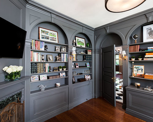 Benjamin moore kendall charcoal houzz for Benjamin moore corporate headquarters