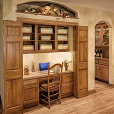 Traditional Home Office by Wallner Builders