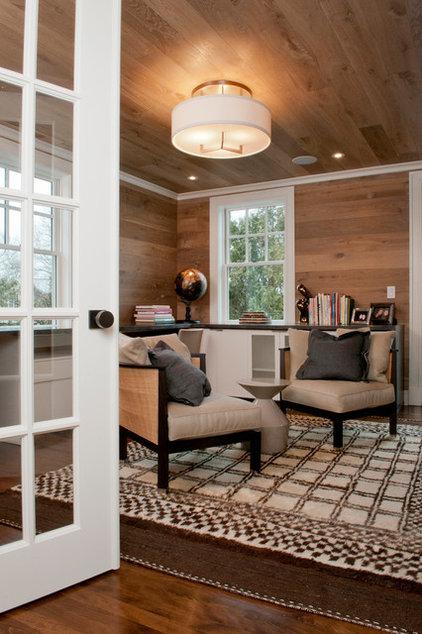 Transitional Home Office by Dietz & Associates Inc.