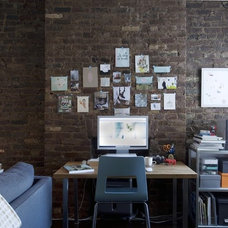 Contemporary Home Office by Buy Some Damn Art