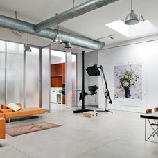 Industrial Home Office by BWArchitects (formerly Basil Walter Architects)