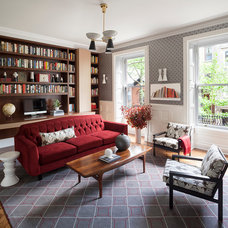 Transitional Home Office by Robert Granoff