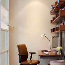 Modern Home Office by Kiki Dennis Interiors, Inc.