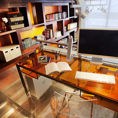 contemporary home office by Joe Ginsberg