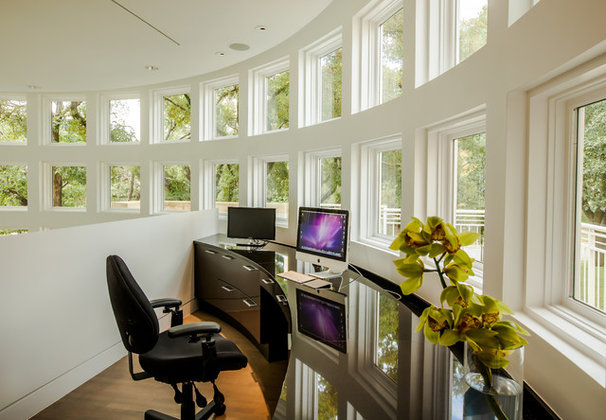 Contemporary Home Office by Key Residential