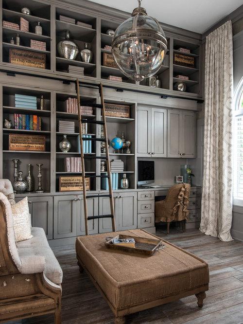 traditional home office design ideas remodels photos. Black Bedroom Furniture Sets. Home Design Ideas