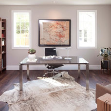 Contemporary Home Office by Elevation