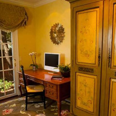traditional home office by Brownhouse Design, Los Altos, CA