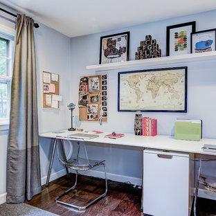 Elegant home office photo in Philadelphia