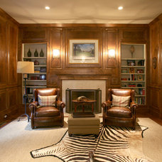 Traditional Home Office by Abbey Construction Company, Inc.