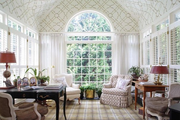 Traditional Home Office by Paces Construction Co