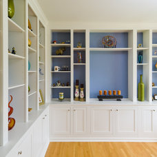 Traditional Home Office by Hammerhead Handyman & Remodeling, LLC