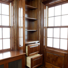 Traditional Home Office by Fanatic Finish Inc.