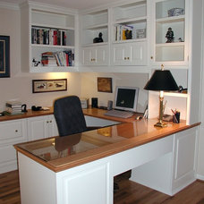 Traditional Home Office by Contemporary Woodcrafts, Inc.