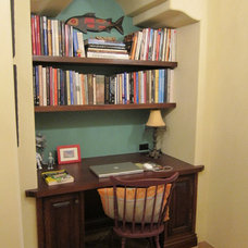 Traditional Home Office by RA Design Group, LLC