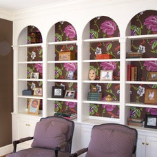 Traditional Home Office by Ben Dial