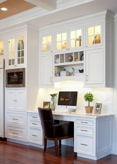 Traditional Home Office By Bsa Construction Development