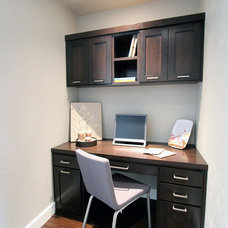 Modern Home Office by Jordan Iverson Signature Homes
