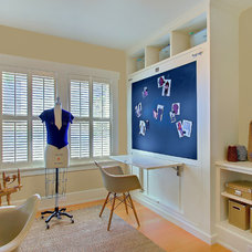 Traditional Home Office by J.A.S. Design-Build