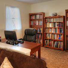 Traditional Home Office by Mosby Building Arts