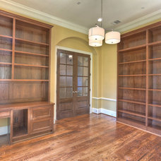 Traditional Home Office by Metropolitan Custom Homes
