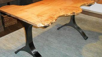 Burl Big Leaf Maple Desk