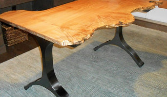Burl Big Leaf Maple Desk