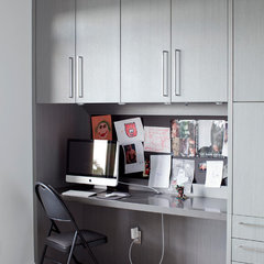 contemporary home office by Tanya Schoenroth Design