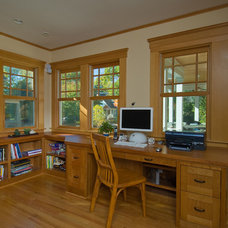 Traditional Home Office by Studio Z Architecture