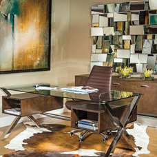 Modern Home Office by High Fashion Home