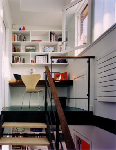 Contemporary Home Office by CWB Architects