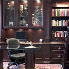 traditional home office by c3d design