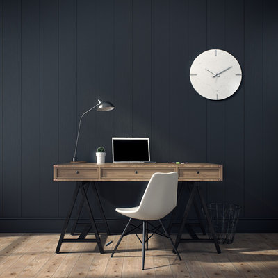 Industrial Home Office by Caesarstone Australia