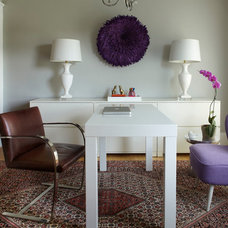 Traditional Home Office by MANDARINA STUDIO interior design