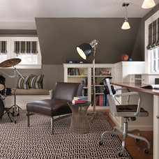 Traditional Home Office by Taylor Interior Design