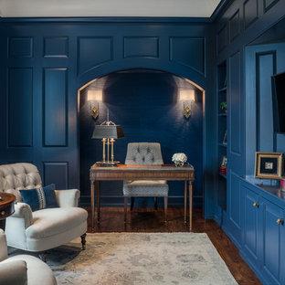 Inspiration for a timeless home office remodel in Philadelphia