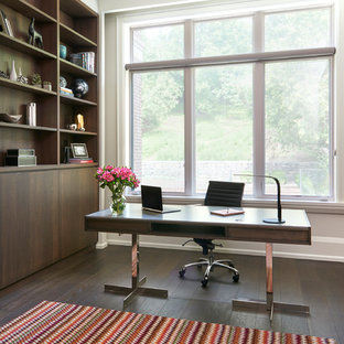 75 Modern Home Office Design Ideas - Stylish Modern Home Office ...