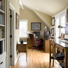 traditional home office by ROTHERS Design/Build