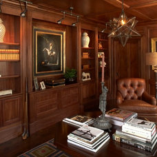 Traditional Home Office by Shor Home