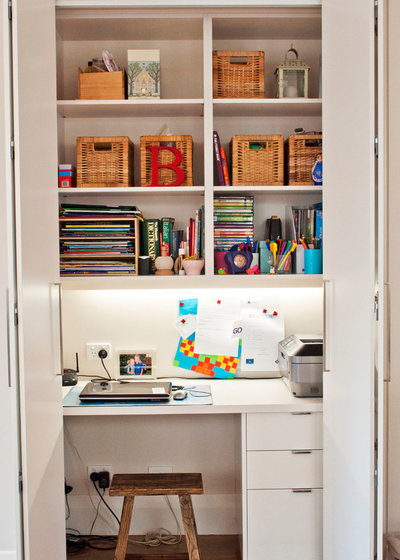 Contemporary Home Office & Library by Key Piece