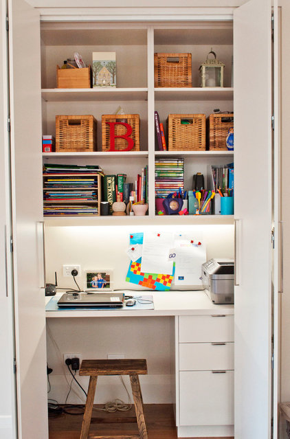 Contemporary Home Office by Key Piece