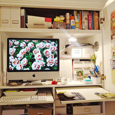 Eclectic Home Office Carlita